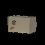 Nistkasten aus Sperrholz 16 x 25 x 16 cm