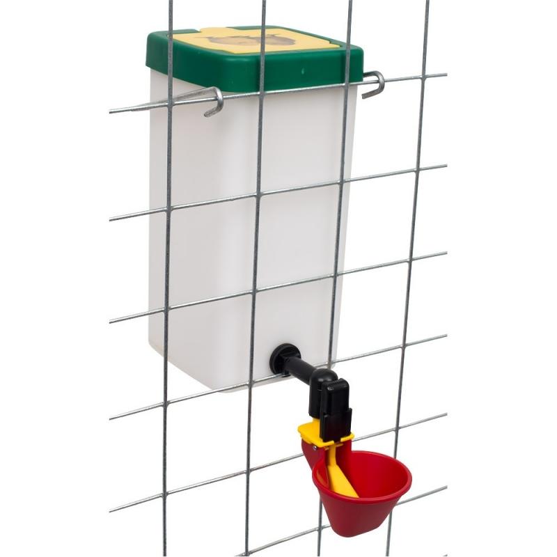 Wachteltränke Kückentränke Beckentränke 1 Liter rot