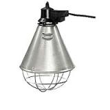 Schutzkorb für Infrarotlampen mit Sparschalter