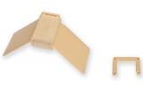Sitzbrettchen aus Holz mit Kunststoffflügelchen