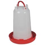 Geflügeltränke mit Bajonettverschluss 3 Liter rot