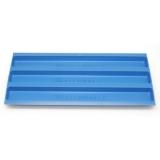 Wasserrinnen Einsatz blau