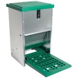 Geflügelfutterautomat mit Trittklappe 5 - 6  Kg