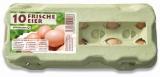 Eierschachtel 10er Aufdruck Frische Eier