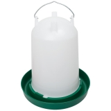 12 Li Hühnertränke mit Bajonettverschluss grün