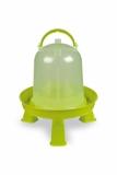 Wachteltränke Kückentränke 1,5 Liter mit Füßen Lemon